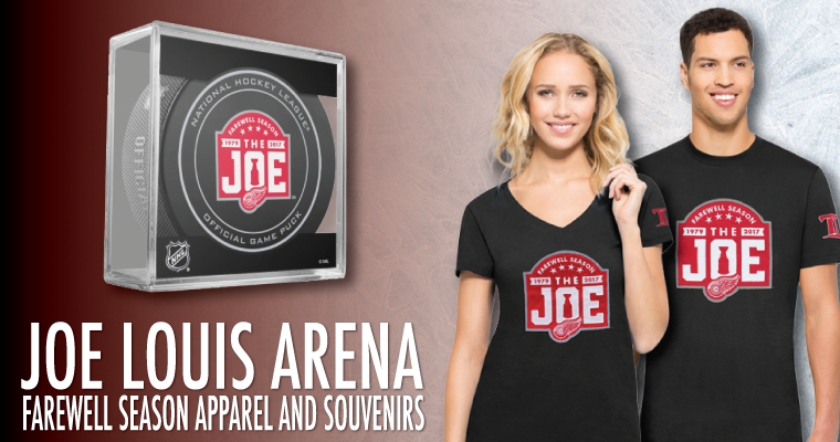 Joe Louis Arena Farewell Season Merchandise