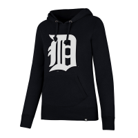 47 Brand Detroit Tigers Women's Fall Navy Headline Pullover Hood