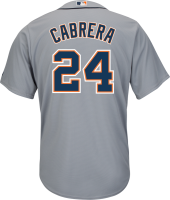 Majestic Detroit Tigers Migel Cabrera 2015 Cool Base Road Jersey