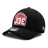 New Era Detroit Red Wings Black 39Thirty Joe Louis Arena Farewell Season Stretch Fit Cap