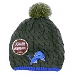 New Era Women's Detroit Lions Salute to Service Knit