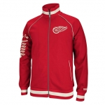 CCM Detroit Red Wings Red Track Jacket