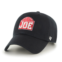47 Brand Detroit Red Wings Black Joe Louis Arena Farewell Season Clean Up Adjustable Cap