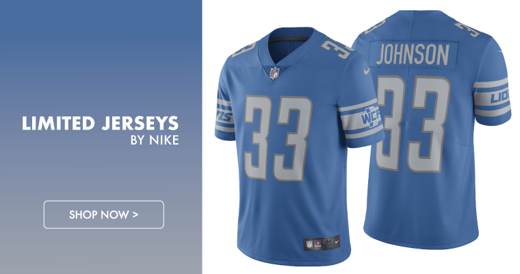 Nike Detroit Lions Limited Stitched Jerseys